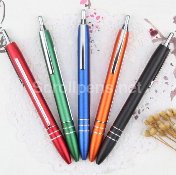 metal banner pens