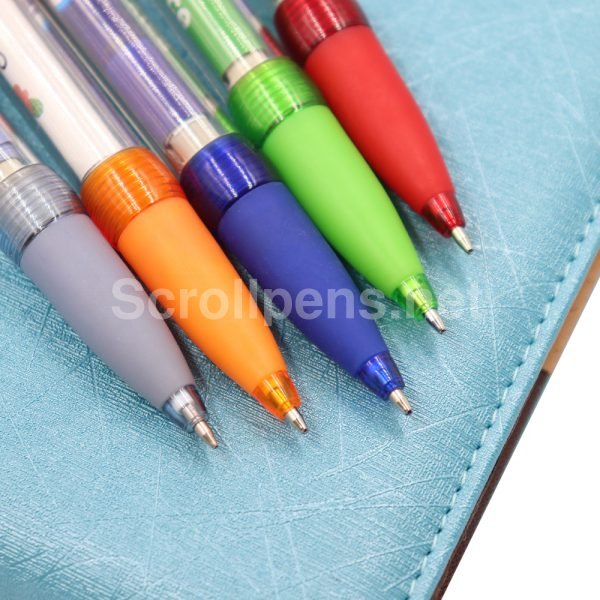 pull out pens rubber grip
