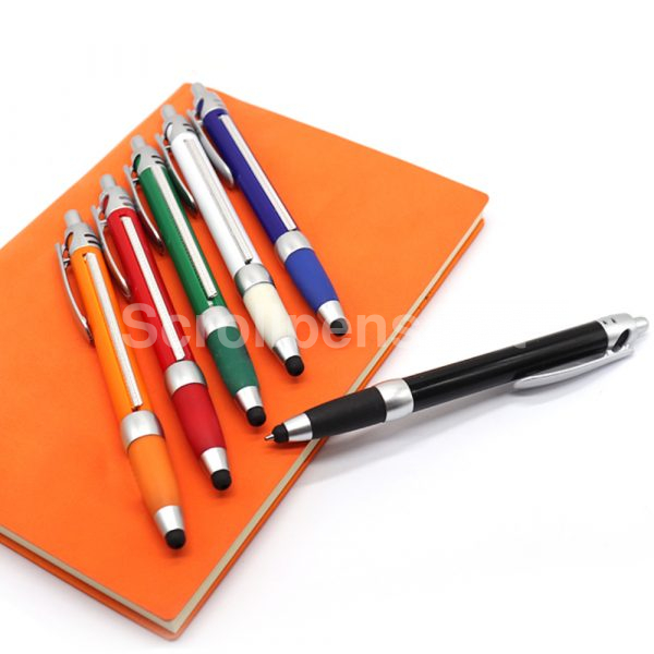 solid barrel pull out pens stylus pop 2lu
