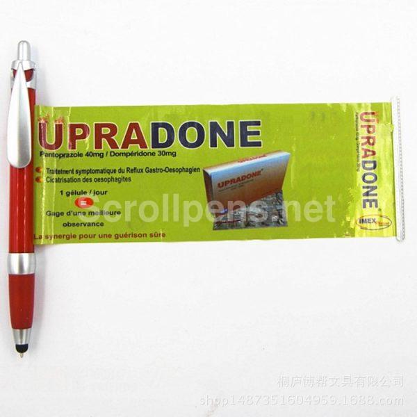 water drip clip banner pens stylus